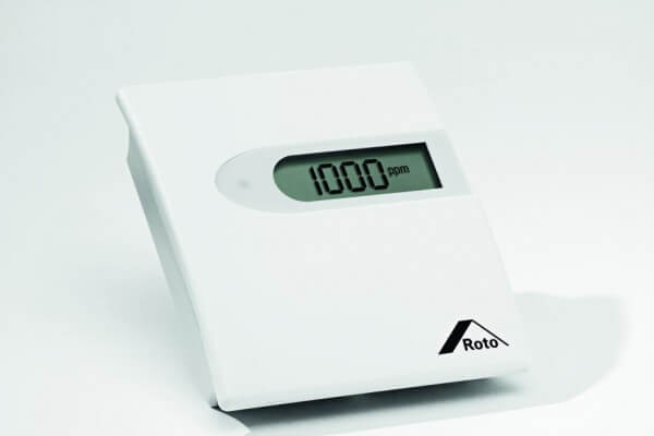 Roto Roto Luftqualitätssteuerung