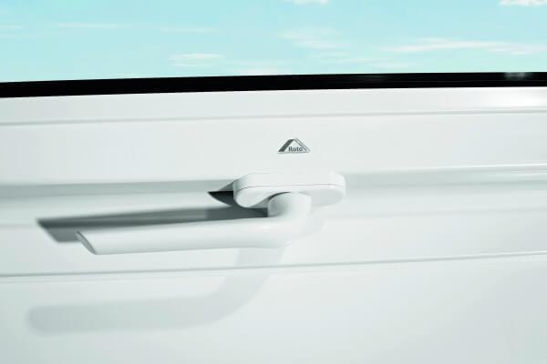 Roto Abschließbarer Griff  für Baureihe 84 H und 62H in weiß