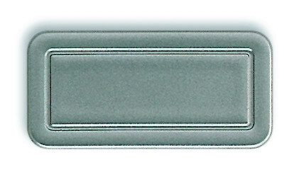 Roto Designo Abdeckplatte grau R6 / R8 für Holzfenster