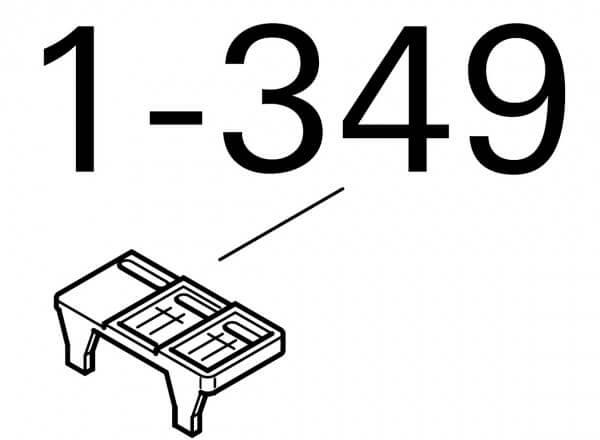 1-349 Roto Stufenkeil 43/73/6x/84/Q H/K G2