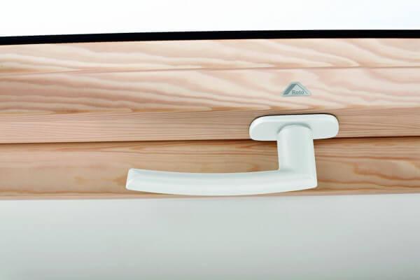 Roto Designo Standardgriff Griff in weiß für R6/R8 Kunststoff