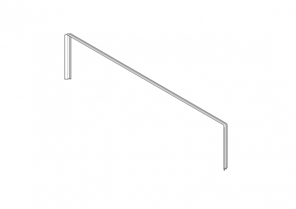 1-040 Roto Zusatzdichtung oben für Holzfenster