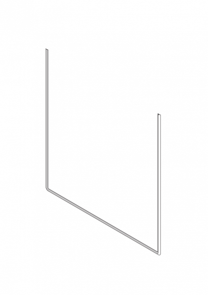 1-039 Roto Zusatzdichtung unten für Holzfenster