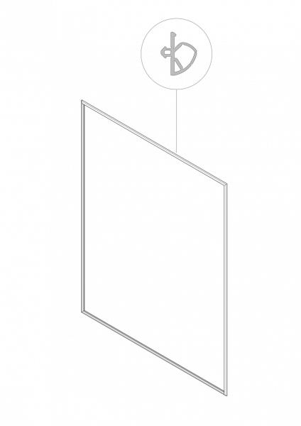 1-038 Roto Zusatzdichtung für Kunststofffenster