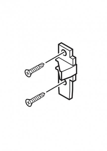 1-203 Roto Einlaufblock ohne Zapfen für 4/7 R4/7 K xx/xx