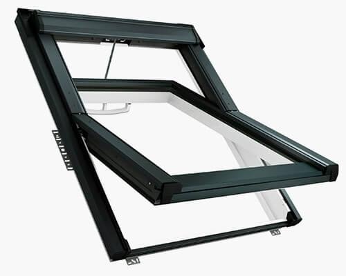 Elektrisches Schwingfenster Roto QT4 aus Kunststoff