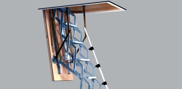 Roto Scherentreppe Elektro DD Standard