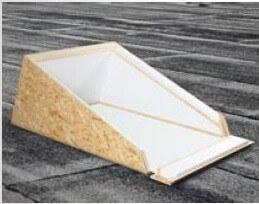 Roto Designo Einbaurahmen Flachdach