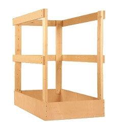 Roto Lukenschutzgeländer aus Holz
