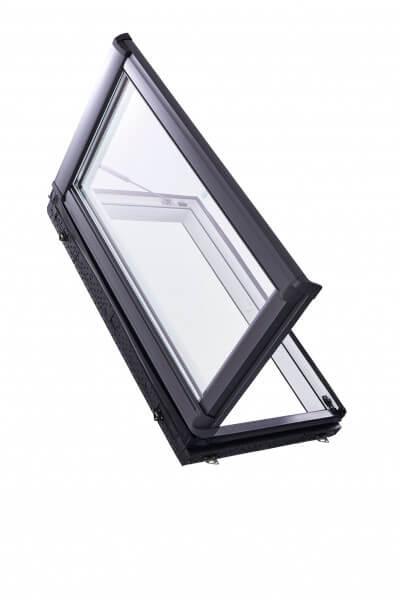 Designo R3 Wohndachausstieg für gedämmte Dachräume als Austauschfenster