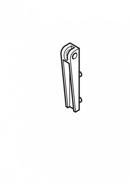 1-253 Roto Ecklager Reparaturset 43/73/R4/R7 für Holz-Dachfenster