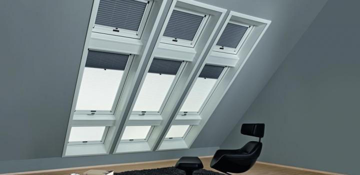 roto designo faltstore duo sonnenschutz innen sonnenschutz roto store. Black Bedroom Furniture Sets. Home Design Ideas